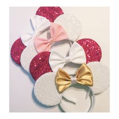 Sequin MOUSE EARS