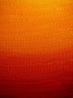 orange is such a beautiful color.