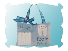 Adorable Tooth Fairy Pillow design for the embroidery machine - Boy/Girl version
