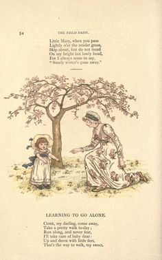 Little Ann and other poems - by Taylor, Jane, Greenaway, Kate, - Published [1883]