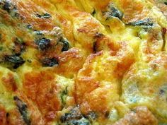 Omleta greceasca Finger Food Appetizers, Finger Foods, Appetizer Recipes, Food Art, Quiche, Avocado, Food And Drink, Cooking Recipes, Gluten Free
