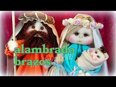 BELEN MANUALILOLIS, peinado de la virgen 4/8, video- 207 - YouTube