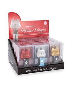Glittery Gold Hand Bag Wine/Bottle Stopper - http://www.amazon.com/dp/B00QEMSJY2/ref=cm_sw_r_pi_awdm_x_2Sl-xbV1V4DQ0