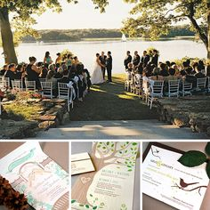 Find out which #seedpaper #weddinginvitations match your wedding style, like this #park theme + park invitations!