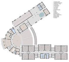 Education Architecture, School Architecture, Architecture Plan, Conceptual Architecture, School Building Design, Building Design Plan, School Floor Plan, School Plan, Hotel Floor Plan