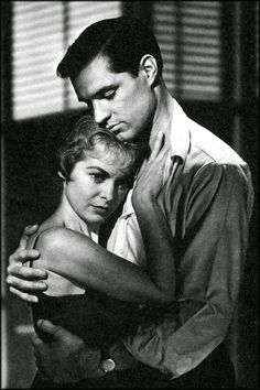 Janet Leigh and John Gavin