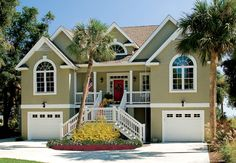 THIS COULD BE THE HOUSE TOM AND I BUILD!!!  LOVE!  Default Image of The Palm Lily - House Plan Number 845-C
