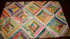string quilt by Better Off Thread (aka Sewgirly!), via Flickr