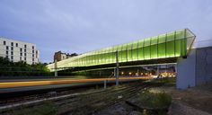 Image 1 of 14 from gallery of New Bridge in Choisy / Jacques Ferrier Architectures.