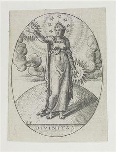 La Divinité Delaune Etienne (vers 1518-1583/1595)