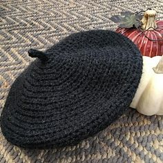 The cute, classic style beret in any worsted weight yarn! This free pattern uses half double crochet and single crochet to make this easy, staple accessory.