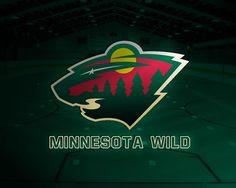 Minnesota Wild Depth Chart for the Season Nhl Logos, Hockey Logos, Hockey Teams, Ice Hockey, Hockey Stuff, Minnesota Wild Hockey, Wild Logo, Rhyming Activities
