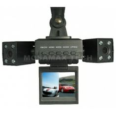 Dual Lens Dash Cam Night Vision Camera System For Car / Vehicle