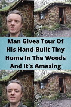 #Man Gives Tour Of His #Hand-Built Tiny #Home In The #Woods And It's #Amazing Aesthetic Indie, Quote Aesthetic, Best Places To Travel, Cool Places To Visit, Orange Eye Makeup, Cute Funny Babies, Tattoo Fails, Disney Princess Pictures, Diy Porch