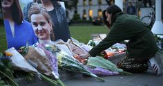 """Top News: """"UK: Britain Mourns Jo Cox"""" - http://politicoscope.com/wp-content/uploads/2016/06/Floral-tributes-and-candles-are-placed-by-a-picture-of-slain-Labour-MP-Jo-Cox-UK-News-Headline-748x395.jpg - """"Jo believed in a better world and she fought for it every day of her life with an energy and a zest,"""" Job Cox's husband, Brendan Cox, said.  on Politicoscope - http://politicoscope.com/2016/06/17/uk-britain-mourns-jo-cox/."""