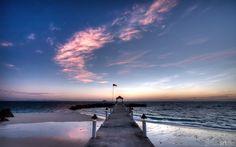 Sunrise at the Pier by nxxos.deviantart.com on @deviantART