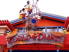 Shopper's paradise at Downtown Disney - World of Disney...hopefully in June I will be here!