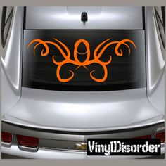 Tribal Pinstripe Wall Decal - Vinyl Decal - Car Decal - 658