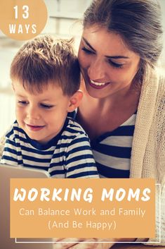 Work/Life Balance for Working Moms