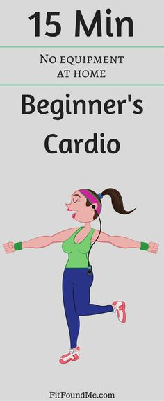 A cardio workout for women to start losing weight and feeling better! No excuses to start today! #cardioworkout #weightloss