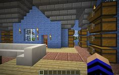 108.170.54.82:38003 : LizC864 Minecraft: BRAND NEW 1.8 WORLD!: My 2nd build: My personal home: 2nd floor storage.