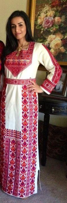 Traditional Palestinian dress