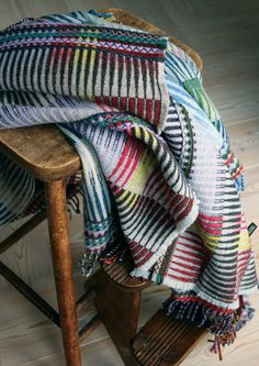 Wallace Sewell's - Lambswool Zinc Throw