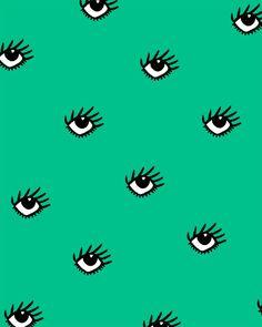 pattern, eyes, green,