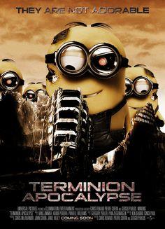 Póster de Terminion Apocalypse.les minions dermon aaaaaaaaaaa