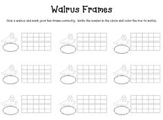 walrus ten frame