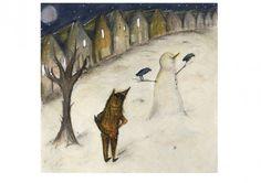 fenwick fox stealing a snowman, sarahjane bartlett