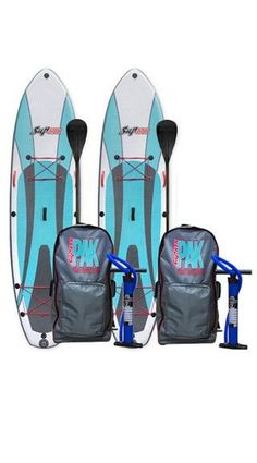 SUP ATX iSUP Inflatable Paddleboard with Paddle Two Pack