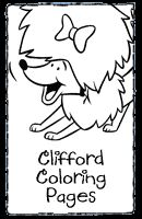 clifford preschool coloring pages - photo#26