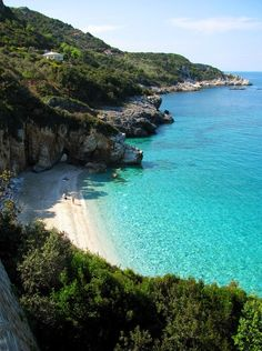 Beach in Pelion, Thessalia, Greece