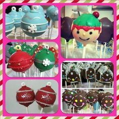 Show off your cake pops, find cake pop recipes, meet other cake poppers, learn cake pop tips and tricks, win contests and so much more! Christmas Cake Pops, Christmas Goodies, Cake Pop Decorating, Decorating Ideas, Tower Stand, Pop Photos, Mini Pies, Bake Sale, Cakepops