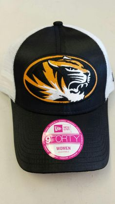 release date 9d3f4 e935a Missouri Tigers Ladies Satin Chic 9FORTY Adjustable Hat by New Era www. shopmosports.com