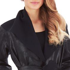 Dolly Ecoskin Coat   Chiara Boni La Petite Robe