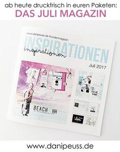 das neue danipeuss.de Magazin ist da! Liegt ab heute kostenlos in euren Paketen ♥