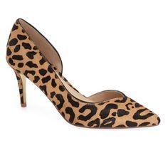 d'orsay leopard pump