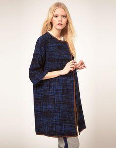 Baum Und Pferdgarten Summer Coat In Tweed With Piping   Asos