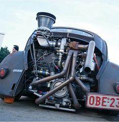 Vw Turbo, Kombi Trailer, Combi Split, Vw Rat Rod, Vw Baja Bug, Hot Vw, Vw Engine, Vw Cars, Audi Cars