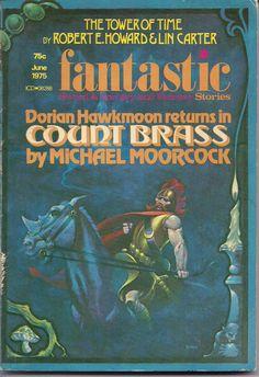 Fantastic Stories Sword & Sorcery Fantasy CONAN Robert E Howard Lin Carter Dorian Hawkmoon COUNT BRASS Michael Moorcock Science Fiction Pulp (12.00 USD) by ephemarama