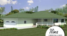 Hale nanea home package kit by honsador 3 bedroom plans for Hawaii package homes