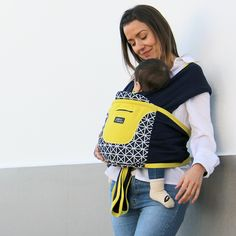 Caboo Cotton Blend Anniversary Printed Designs Baby Carrier