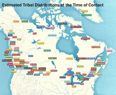 This is cool. First nations at the time of French/English contact.