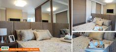 Apartamento decorado 2 dormitórios do Parque Franca Garden no bairro Santa Cruz - Franca - SP - MRV Engenharia - Quarto Casal