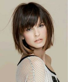 Most Wanted Chin Length Edgy Bob Hairstyles for Women