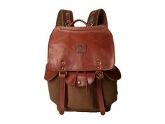 Will Leather Goods Lennon Backpack Tabac - Zappos.com Free Shipping BOTH Ways