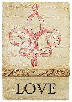 Love Fleur de lis