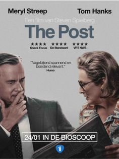The Post - filmadvertentie Tom Hanks, Meryl Streep, Ads, Magazine, Pictures, Photo Illustration, Magazines, Warehouse, Paintings